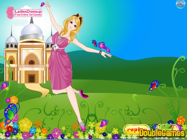 Free Download Dancing Princess Butterfly Screenshot 3