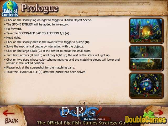 Free Download Dark Parables: The Exiled Prince Strategy Guide Screenshot 1