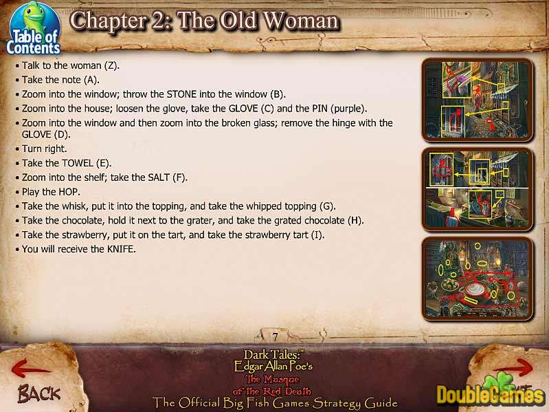 Free Download Dark Tales: Edgar Allan Poe's The Masque of the Red Death Strategy Guide Screenshot 1