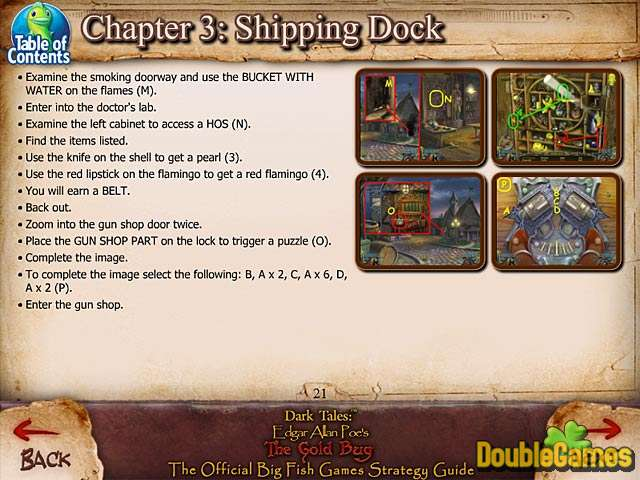 Free Download Dark Tales: Edgar Allan Poe's The Gold Bug Strategy Guide Screenshot 3