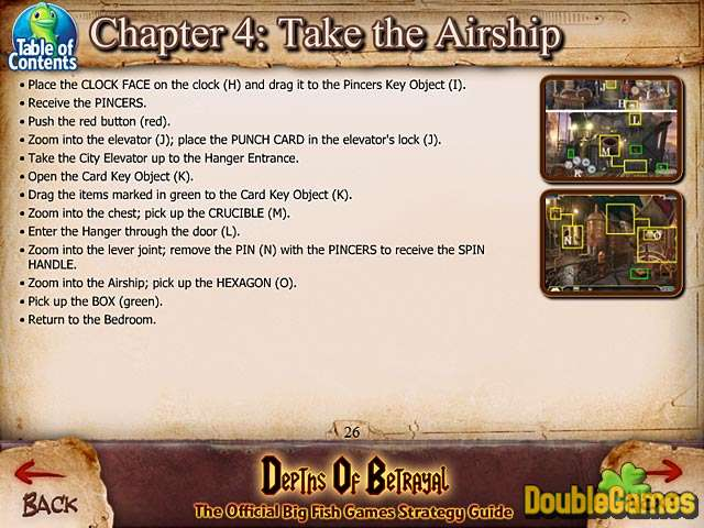 Free Download Depths of Betrayal Strategy Guide Screenshot 1