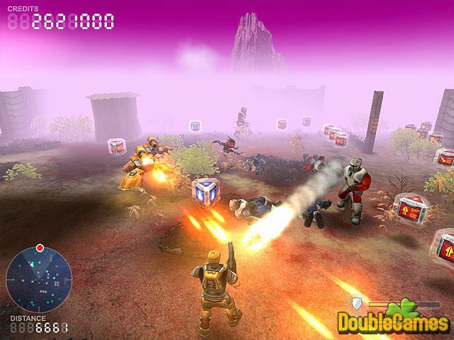 Free Download Devastation Zone Troopers Screenshot 1