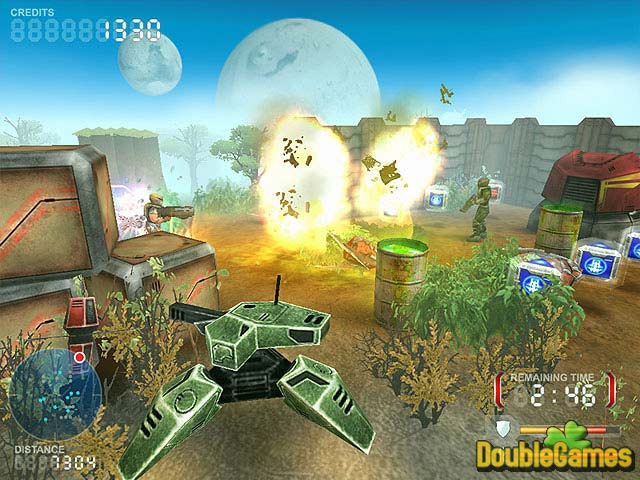 Free Download Devastation Zone Troopers Screenshot 2