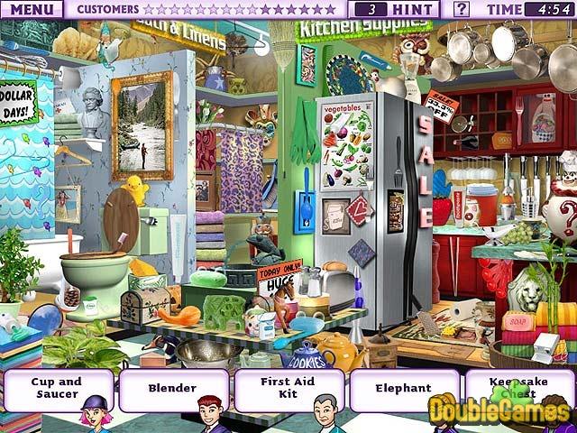 Скачать бесплатно Double Pack Little Shop of Treasures скриншот 1. Скачать