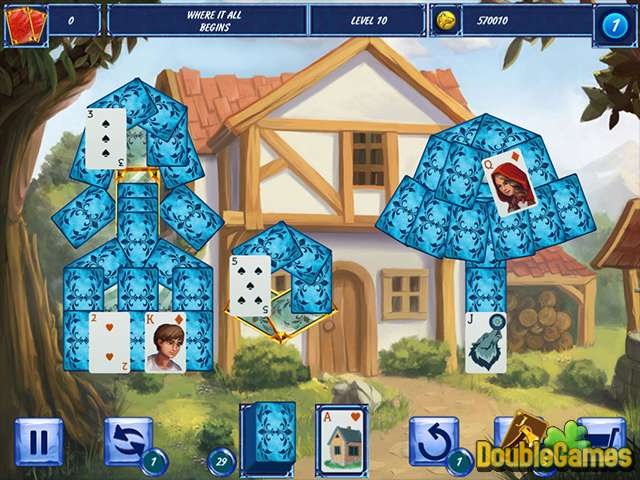 Free Download Fairytale Solitaire: Red Riding Hood Screenshot 1