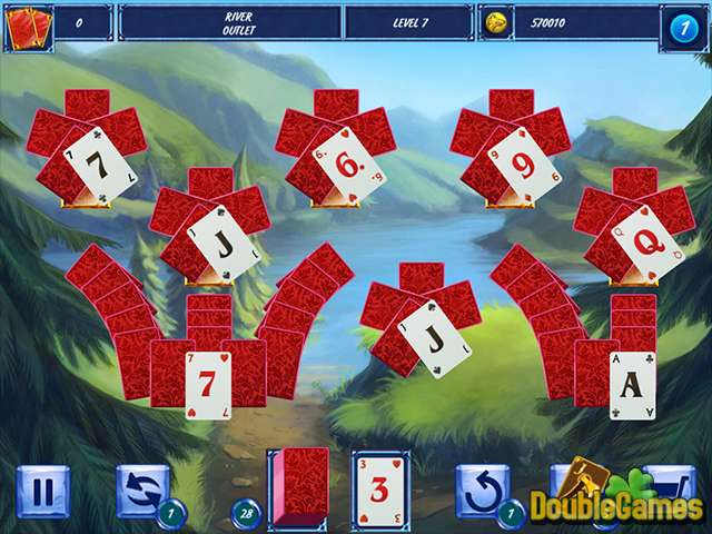 Free Download Fairytale Solitaire: Red Riding Hood Screenshot 2