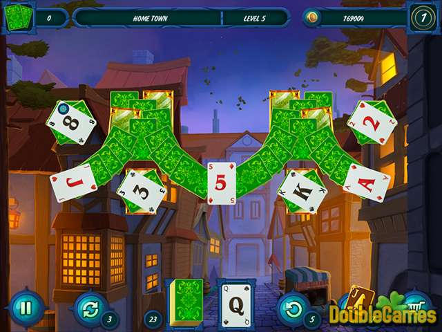 Free Download Fairytale Solitaire: Witch Charms Screenshot 1