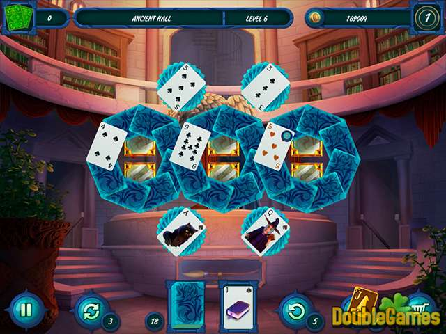 Free Download Fairytale Solitaire: Witch Charms Screenshot 2