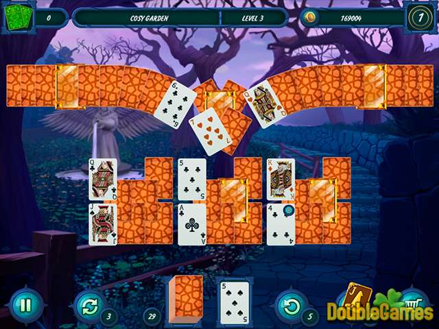 Free Download Fairytale Solitaire: Witch Charms Screenshot 3