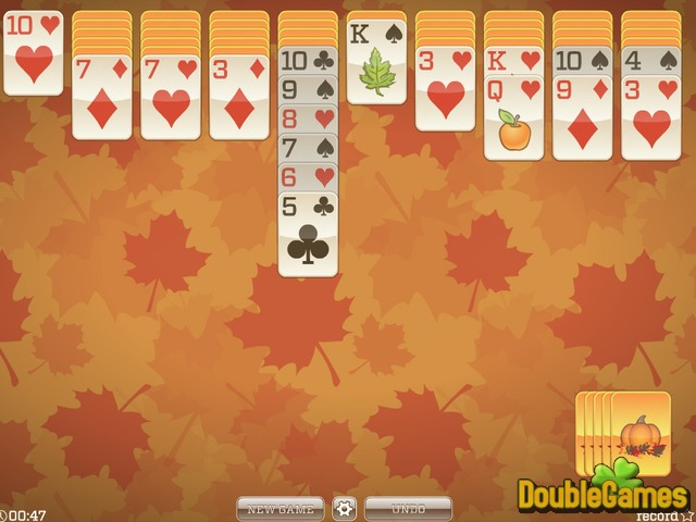 Free Download Fall Solitaire Screenshot 3