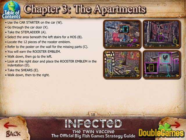 Free Download Infected: The Twin Vaccine Strategy Guide Screenshot 2