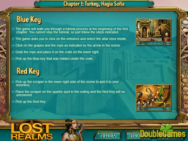 Free Download Lost Realms: The Curse of Babylon Strategy Guide Screenshot 1
