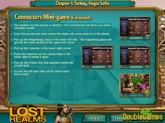 Free Download Lost Realms: The Curse of Babylon Strategy Guide Screenshot 2