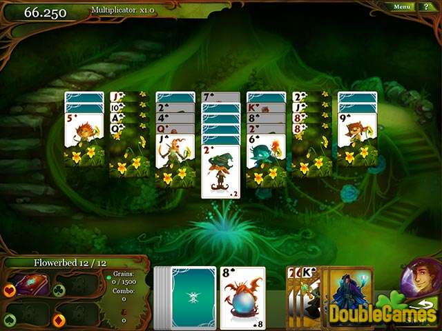 Free Download Magic Cards Solitaire Screenshot 1