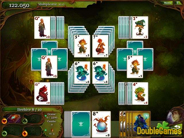 Free Download Magic Cards Solitaire Screenshot 2