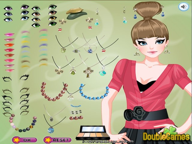 Free Download Dress Up: Marble Jewelry Screenshot 1