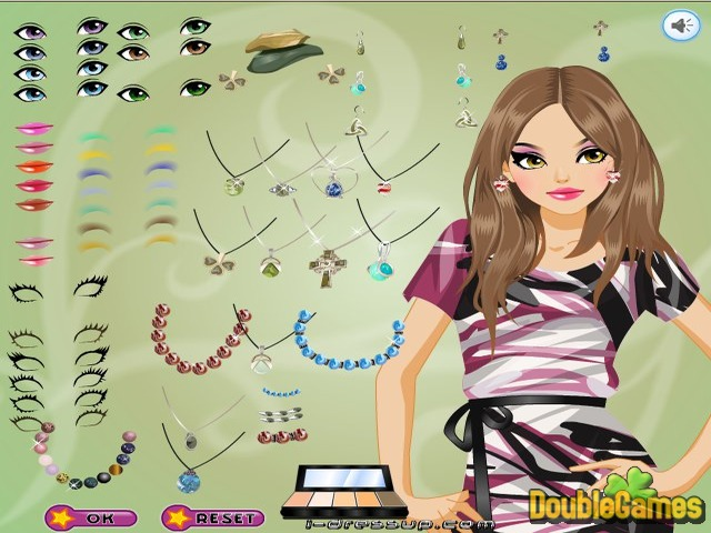 Free Download Dress Up: Marble Jewelry Screenshot 2