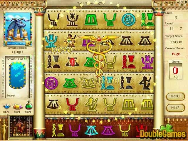 Free Download Mysteries of Horus Screenshot 1