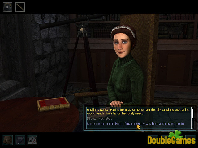Free Download Nancy Drew: The Haunting of Castle Malloy Screenshot 2