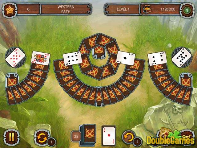 Free Download Solitaire Legend of the Pirates Screenshot 1