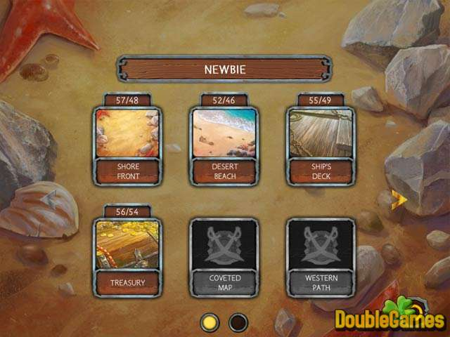 Free Download Solitaire Legend of the Pirates Screenshot 2