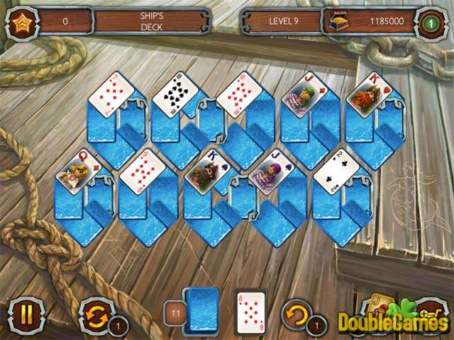 Free Download Solitaire Legend of the Pirates Screenshot 3