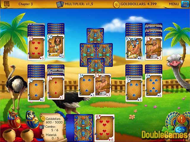 Free Download The Artifact of the Pharaoh Solitaire Screenshot 3
