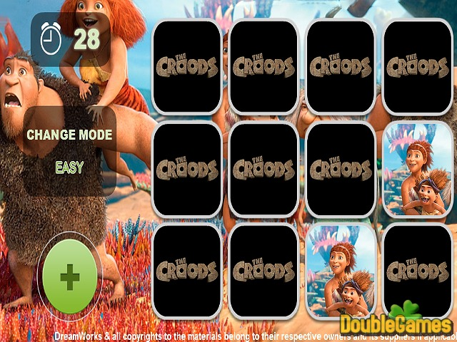 Free Download Croods Ailesi Hafıza Oyunu Screenshot 1