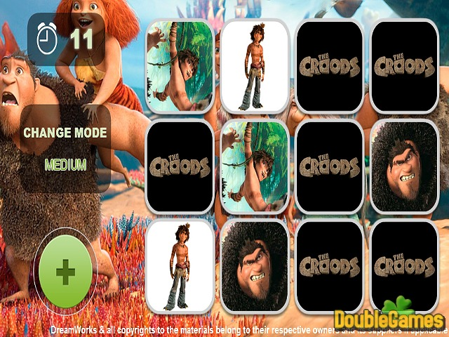 Free Download Croods Ailesi Hafıza Oyunu Screenshot 2