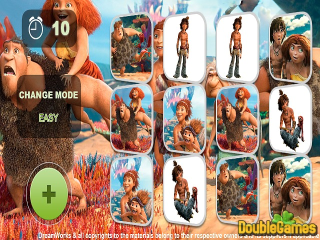 Free Download Croods Ailesi Hafıza Oyunu Screenshot 3