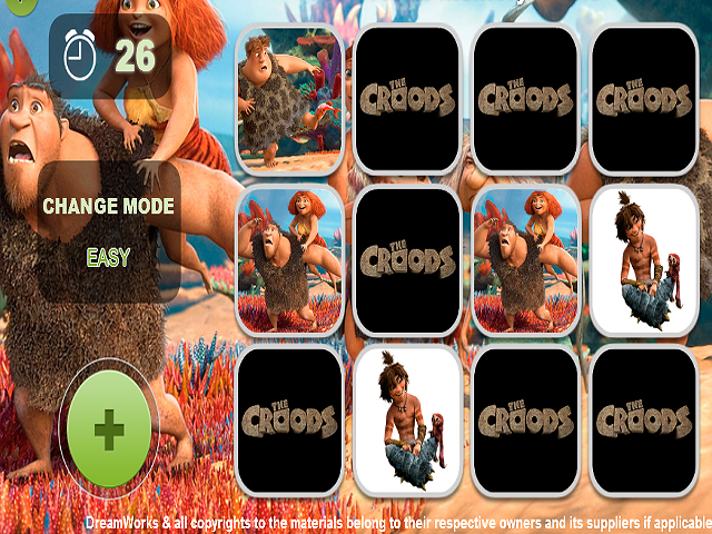Free Download Croods Ailesi Hafıza Oyunu Screenshot 4