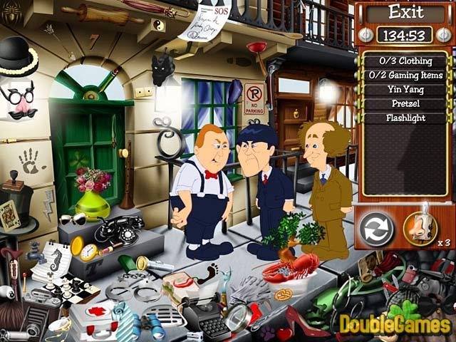 Free Download The Three Stooges: Treasure Hunt Hijinks Screenshot 1