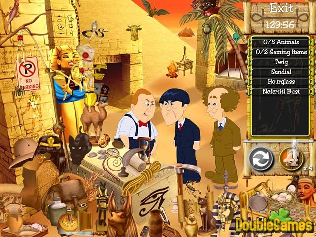 Free Download The Three Stooges: Treasure Hunt Hijinks Screenshot 3