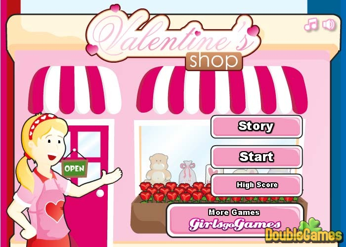 Free Download Valentine's Shop Screenshot 1