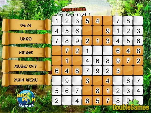 Wonderful Sudoku ekran resmini bedava indir 2