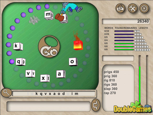 Free Download Word Whacky Screenshot 1