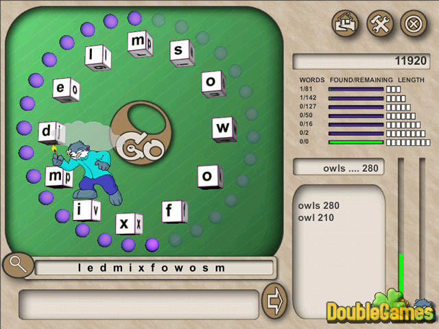 Free Download Word Whacky Screenshot 3